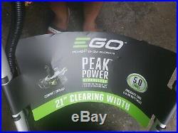 Ego 21 inch snow blower