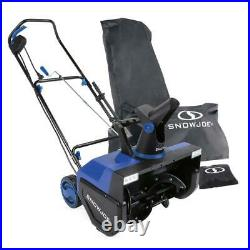 Electric Snow Blower 22 in. Thrower Single Stage LED Headlights FREE Cover