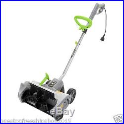 Electric Snow Thrower Blower Power Shovel with Wheels Driveway Outdoor Durable