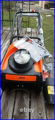 Fuxtec Schneefräse FK-SF-140 Benzin 0,9kw, Räumbreite 33cm, Gewicht 16kg