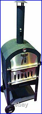 Gardman Usa KUK002B Pizza Oven Monterey Withstone