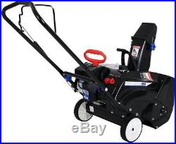 Gas Snow Blower 20 in. 87cc Single-Stage Recoil Start Large 7 in. Wheels Steel