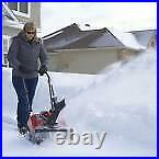 Gas Snow Blower Removal Toro Power Clear Wheeled 518 ZE 18 in. Single Stage