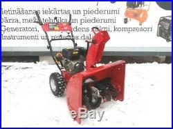 Gasoline Snow Blower snow thrower 6.5HP 61CM E-Start NEW