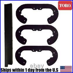 Genuine OEM Toro Commander SnowBlower Paddle Scraper Kit 100-9872 104-4138 38600
