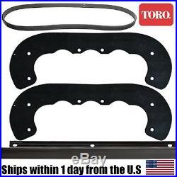 Genuine OEM Toro Snow Blower Paddle Scraper Belt CCR3650 95-6151 99-9313 55-8760