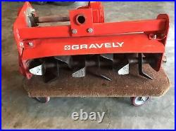Gravely 26 quick hitch tiller (cultivator) for walk behind tractors, new style