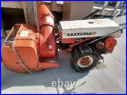 Gravely Commercial 12 With Snowblower