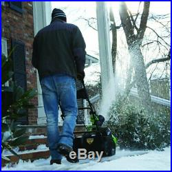 Greenworks 20-Inch 40V Cordless Brushless Snow Thrower Without Battery