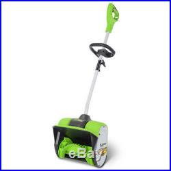 Greenworks 2600802 8 Amp/12 in. Lightweight & Ergonomic Electric Snow Shovel New