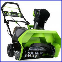 Greenworks 26272 40V G-MAX Cordless Lithium-Ion 20 in. Snow Thrower New