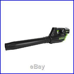 Greenworks 80V 20in snow thrower and 80V blower combo kit