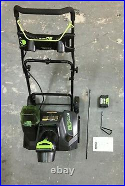 Greenworks GW80VSNW200 Pro 80V 20 Snow Thrower NO CHARGER