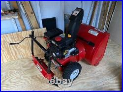 HUSKEE 24 Two-Stage Snow Blower 179cc Electric Start Engine ($400)