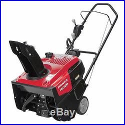 Honda (20) 187cc 4-Cycle Single-Stage Snow Blower with Dual Chute Control