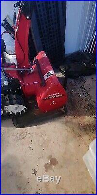 Honda HS724ta Snow Blower