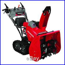 Honda HSS724ATD (24) 196cc Two-Stage Track Drive Snow Blower with 12-Volt Elec