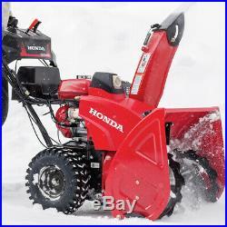 Honda HSS724AWD 198cc 24-Inch Two-Stage Wheel Drive Electric Start Snow Blower