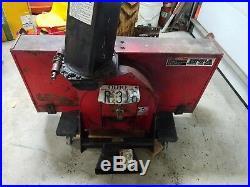 Honda Rt5000 5013 5518 Snow Blower Model Sb752a Tractor