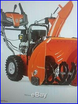Husqvarna ST 224 24-Inch 208cc Two Stage Electric Snow Blower 15- inch