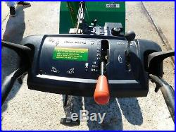 JOHN DEERE 1032 Snowblower 6 Speeds FWD 2 Speeds Reverse Used Once