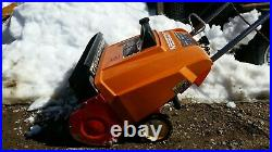 Jacobsen Sno Burst Snowblower 2 Stroke Paddle Auger Single Stage Snow Blower