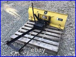 John Deere 240 245 260 265 285 320 48 Front Snow Blade Plow & Manual Angle Kit