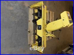 John Deere 38 Inch Tractor Mount Snow Thrower