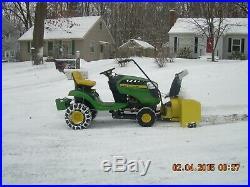 John Deere 44 snowblower attachment 100 series (Local Pick Up ONLY)