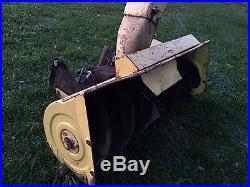 John Deere 46 Snowthrower off 400 Tractor G050E