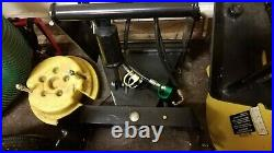 John Deere 54 Snow Plow, Full Hydraulics and 6 Weights for model 445 and others