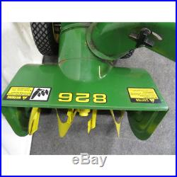 John Deere 826 26-inch Snowblower LOCAL PICK UP ONLY