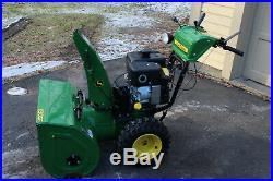 John Deere JD Snowblower Snow Blower 1130SE 30 Dual NEW 14HP Engine