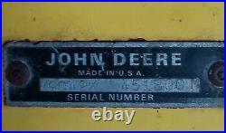 John Deere Model 49 Snowblower