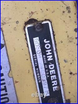 John Deere Snow Blower Thrower 430 420 47