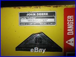 John Deere snowblower