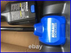 KOBALT 80V Max 12-in Single-Stage Brushless Snow Shovel (Tool Only)