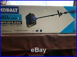 Kobalt 12 40v Max Snow Blower Shovel Single Stage withBattery & Charger
