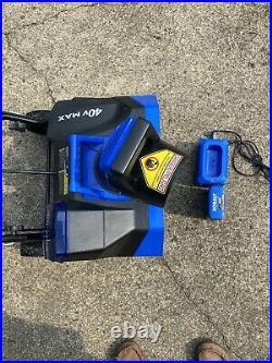 Kobalt 40v snow thrower kit