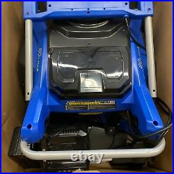 Kobalt 80V Max 22'' Single Stage Cordless Snow Thrower/Blower with Battery/Charger