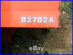 Kubota B2782A Snow Blower Compact Tractor