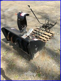 Lawn Husqvarna MTD Factory Tractor Mounted 42 in. Single-Stage Snow Blower mower