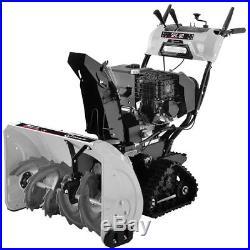 Lumag Schneefräse mit Raupenantrieb SFK 80 Griffheizung LED Scheinwerfer