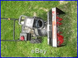 MTD Yard Machine 5HP 2 Stage Snowblower Model 31A-3BAD752 LOCAL PICK UP ONLY