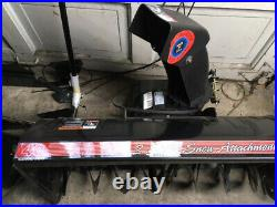 MTD snowblower 40 inch attachment Model OEM-190-621, OEM-190-627