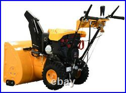 Massimo Snow Blower 30 302cc 2-Stage Electric Start Gas LED Lights Easy Use
