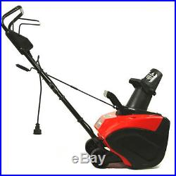 Maztang 18 13 Amp 180 Degree Chute 2100 RPM 120V Electric Snow Blower Thrower