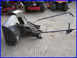 Mtd / Troy-bilt Tractor 42 Snow Thrower Attachment