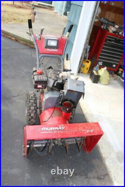 Murry snowblower 8hp 27 new electric starter