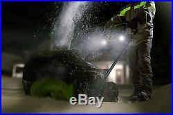 NEW Green Works Pro Cordless Snow Blower 60V 20 2601902